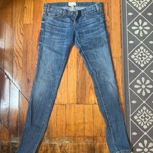 "Current Elliott ""the skinny"" jeans"